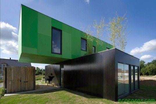 crossbox container Casas con contenedores baratas y ecológicas