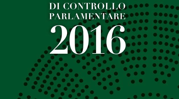 Controllo parlamentare, il rapporto sull'operato del Governo