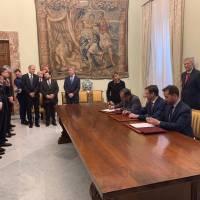 """""""Arctic LNG 2"""", firmato a Palazzo Chigi l'accordo Italia - Russia"""