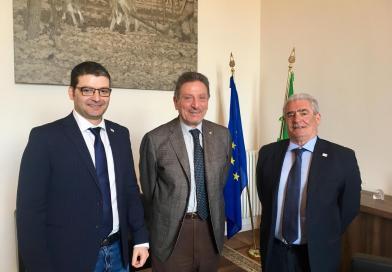 Sindacati. Mariani e Mancini (Confsal) incontrano il Capo dell'INL Leonardo Alestra