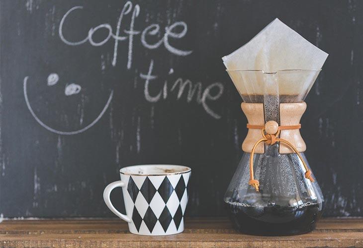 cafés partagés avec les clients