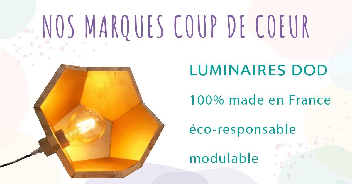 luminaire dod marque éco-responsable française