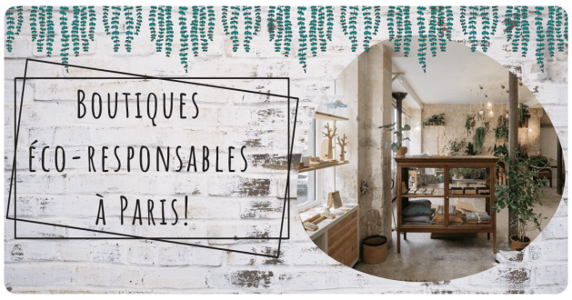 boutique écoresponsable paris