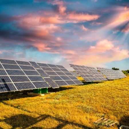 énergie verte solaire renouvelable