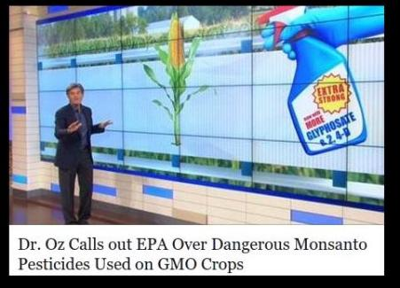 dr oz... monsanto