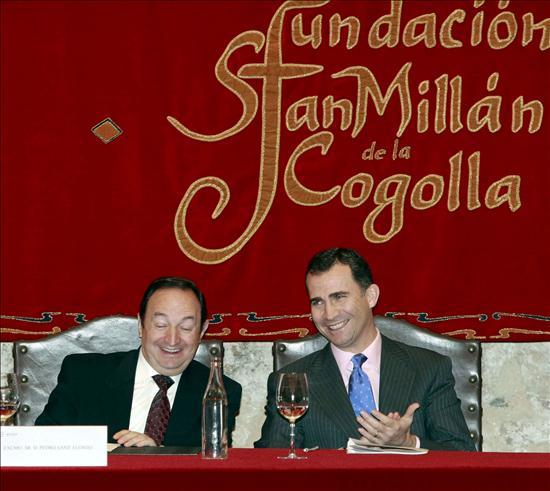 El Príncipe presidirá la reunión del Patronato de la Fundación San Millán de la Cogolla