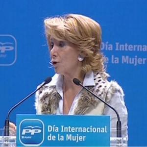 La abortista Esperanza Aguirre pretende financiar el 100% de los abortos que se cometan en Madrid