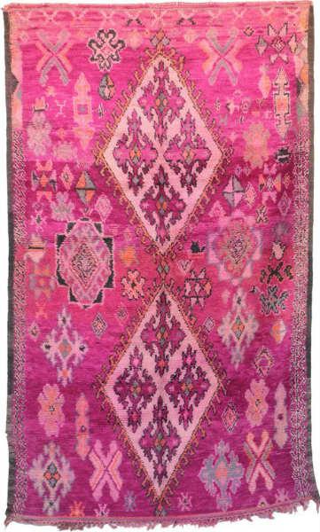 Artisans in Morocco Moroccan Vintage Rug