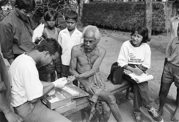 Doctors Without Borders History Timeline India