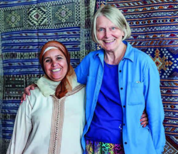 Susan Schaefer Davis Author of the book Artisans in Morocco