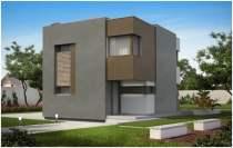 проект хай тэк дома с плоской крышей