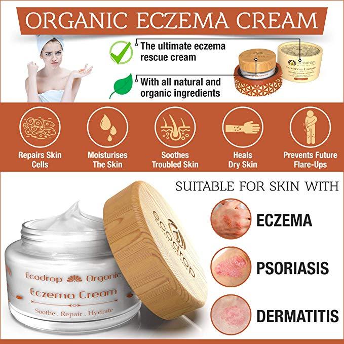 Organic Eczema Cream Features