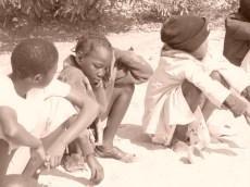 Children in Botswana