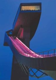 Bergisel Ski Jump, Innsbruck, Austria, 2002 .helene binet ph
