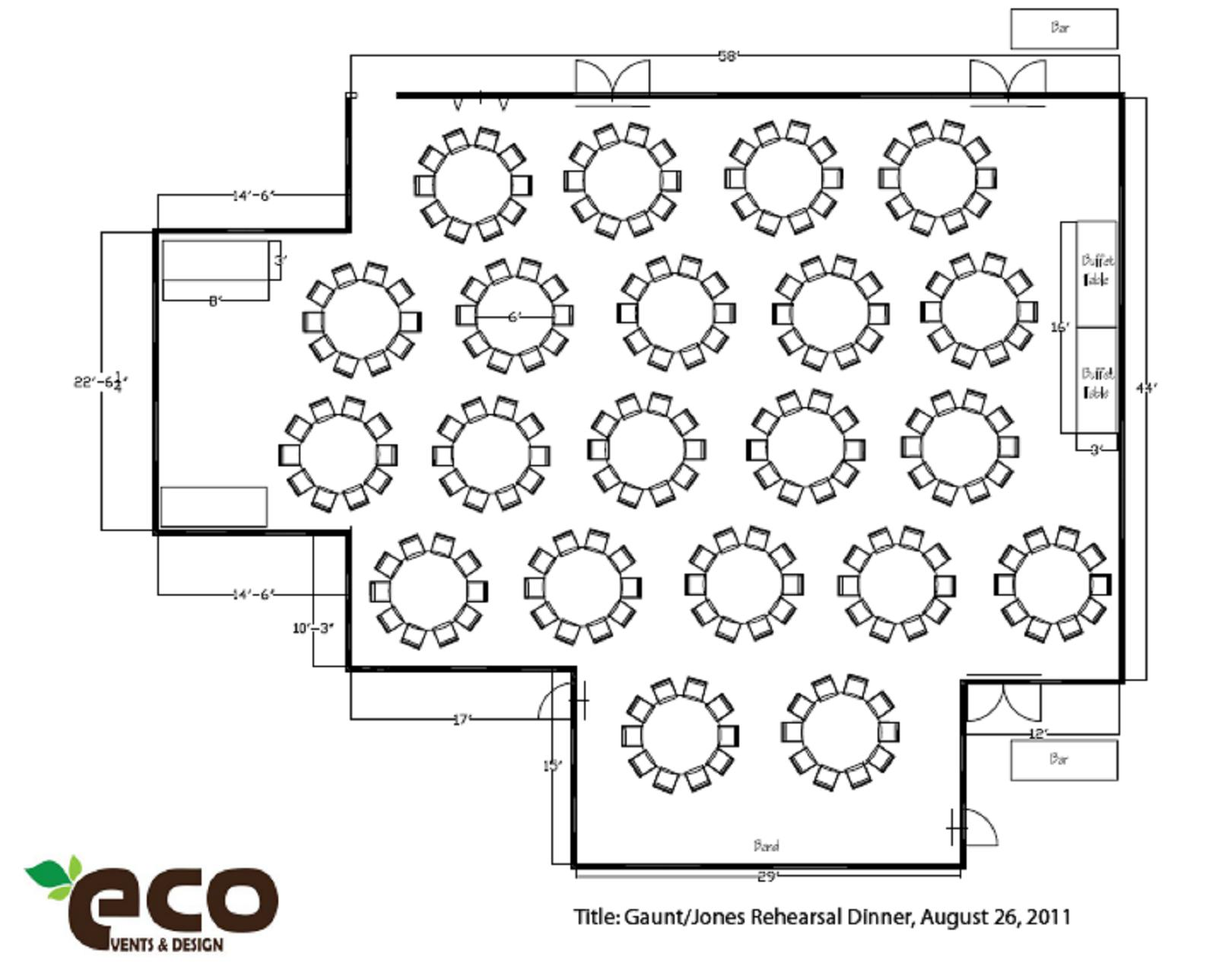 Wedding And Event Floor Plan Diagrams Eco Event And Designs