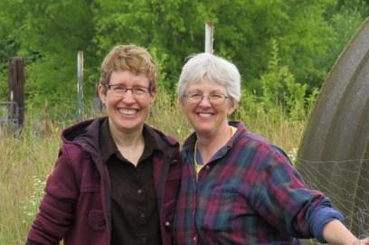 Robyn Hartwig and Sue Koger