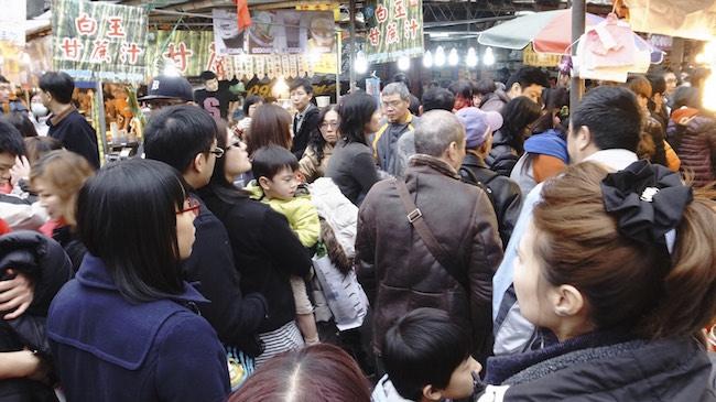 台湾の年末年始の様子