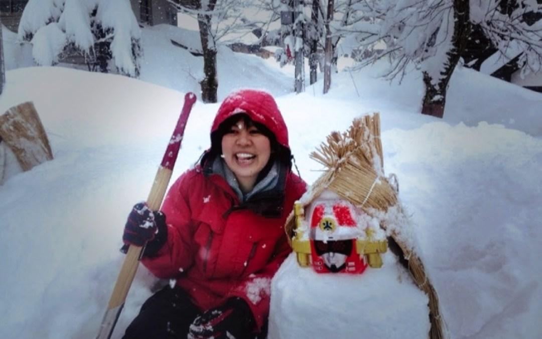 雪だるまを作ろう、たくさん作ろう!