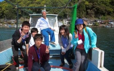 沖島の子どもたちは元気いっぱい!