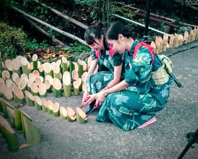 楽しみながら、たくさんのことを学べた竹灯りの集い