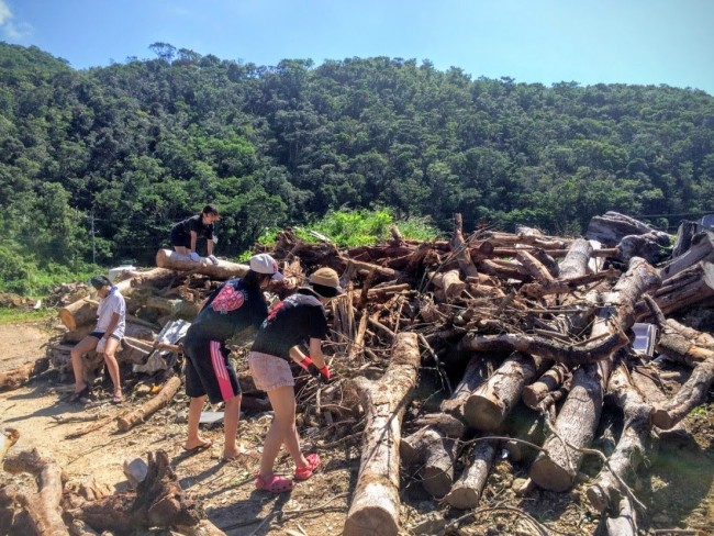 沖縄で活躍する学生ボランティア