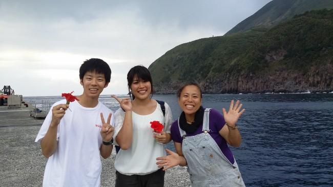 1日早くなった諏訪之瀬島最終日…