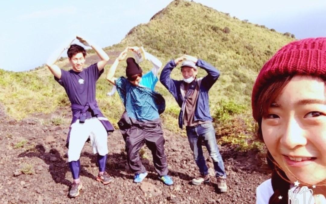 御岳の山登りに挑戦!!