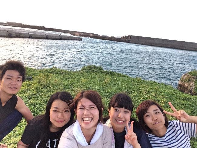 今日もいい天気です! 宝島生活5日目です!