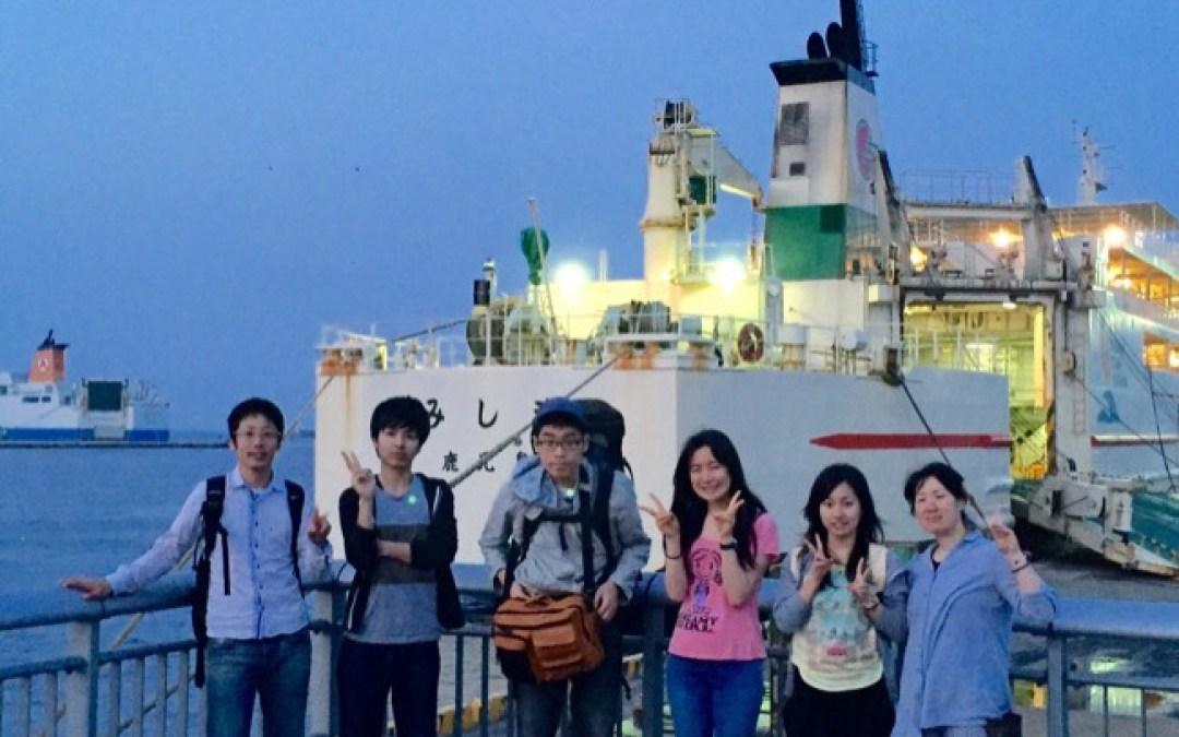 5月7日、竹島での最終日です。