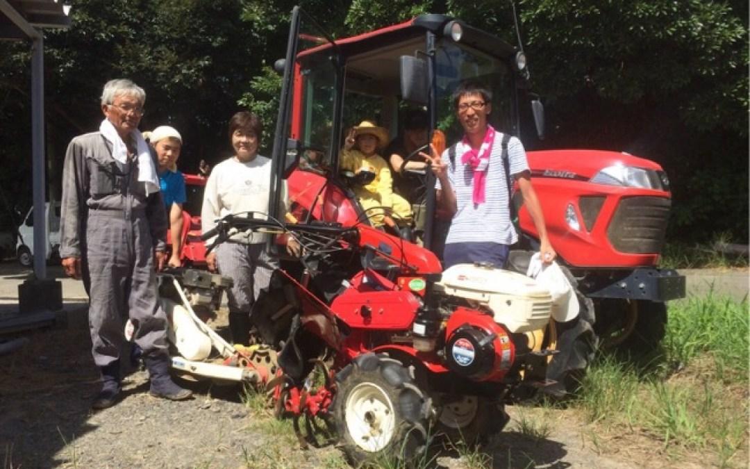 種子島の生活は農業体験だけではなく、学びの場として最適の場所
