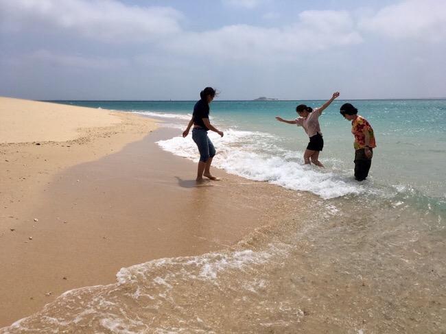 天国のようなビーチを堪能