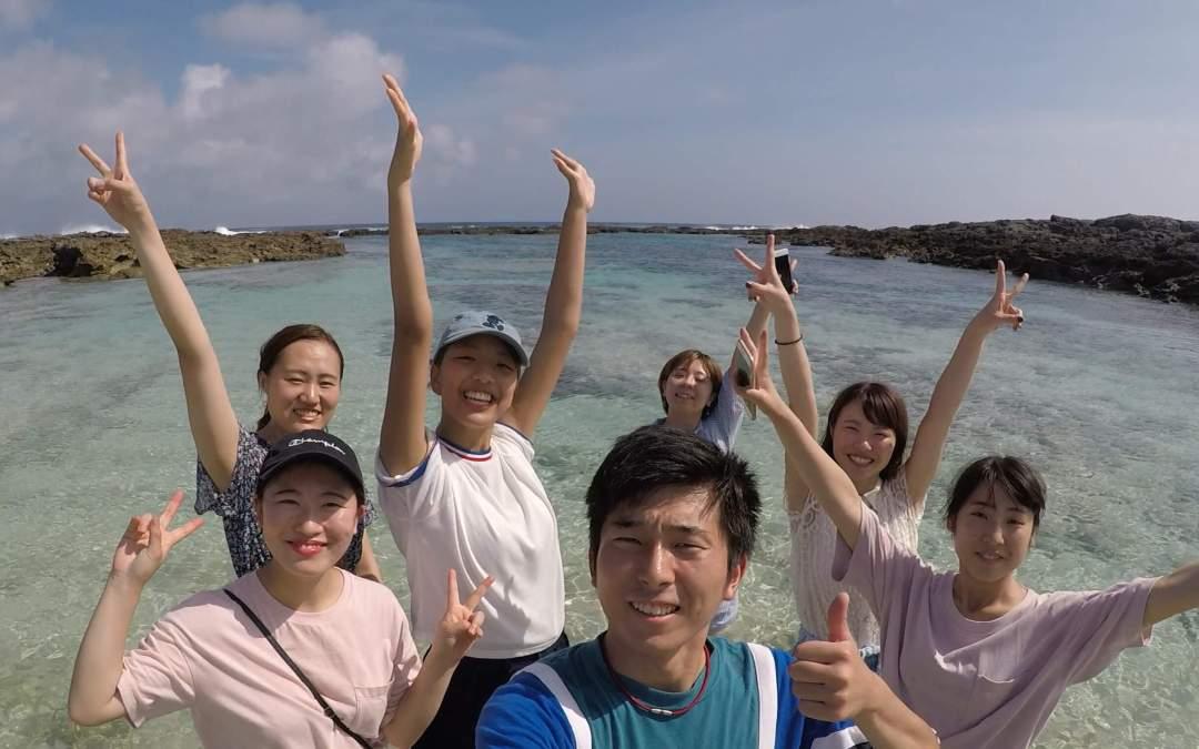 今までで一番綺麗な海!!!