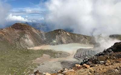 トカラ列島最高峰の山