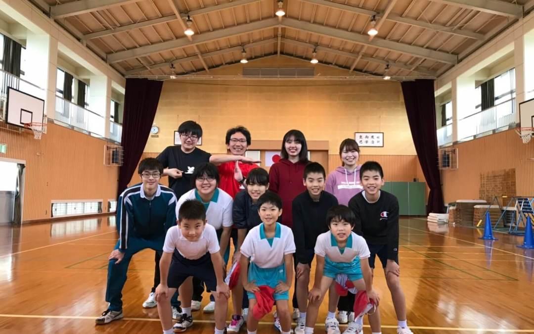 小中学校の授業に参加しました。
