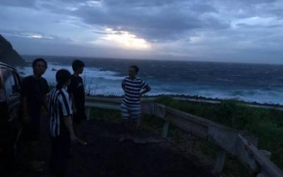 恐るべし台風!
