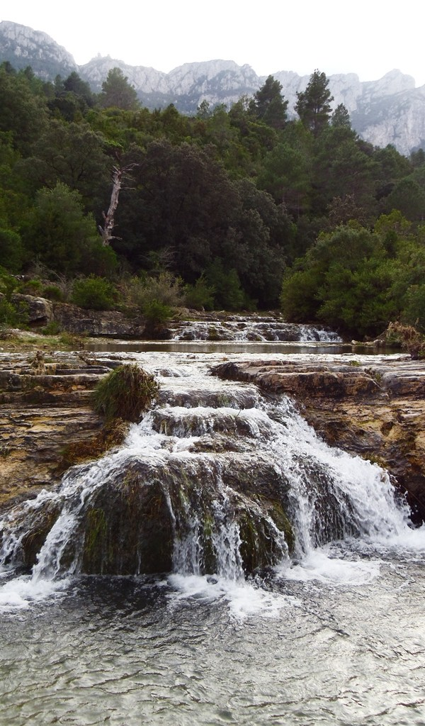 Las cascadas del Toll Blau