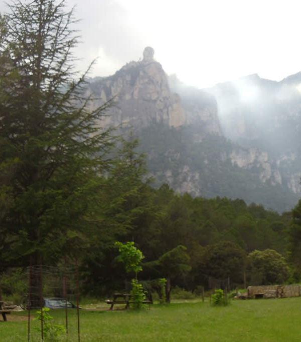 La Joca desde el área de ocio de La vall