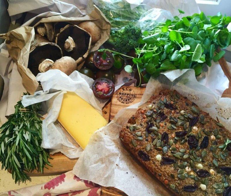 Chef Sam Gowing Eco Food Boads