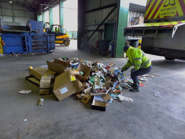 cardboard boxes recycling