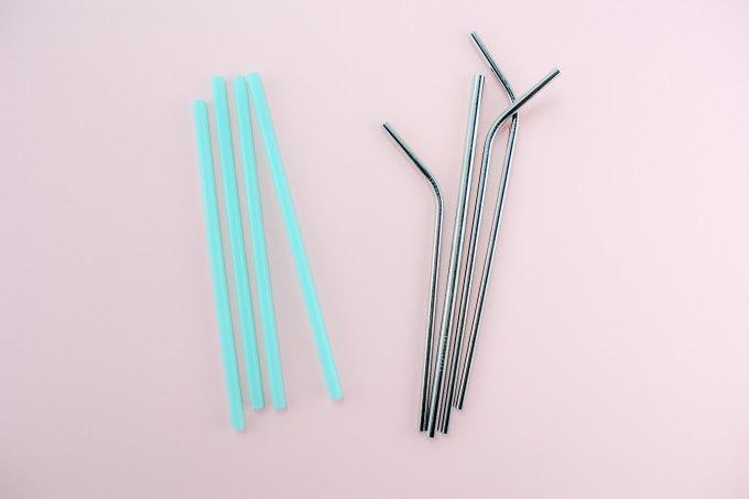 Metal vs plastic staws