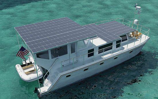 Eco Yachts Island Pilot LLCs New Yacht Is Luxuriously
