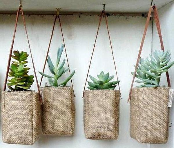 Coffee bag planter