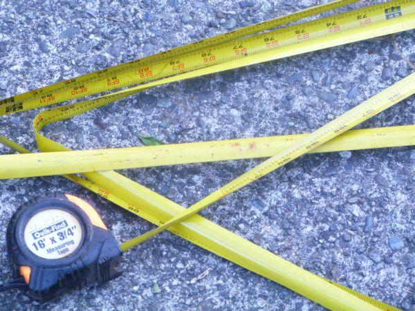 Broken Tape Measure