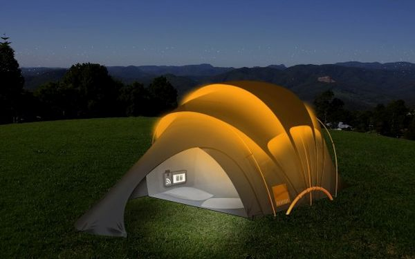Solar Powered Tent