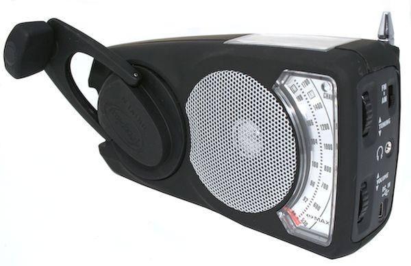 EyeMax Wind-up solar powered radio