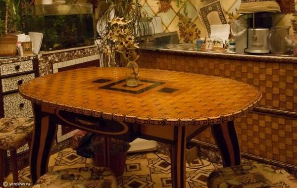 Matchstick Furniture by Roman Yerokhin