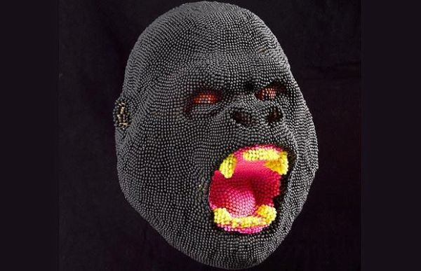 Matchstick Heads by David Mach