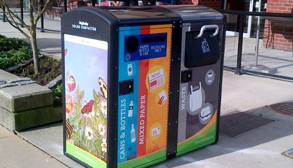 BigBelly dustbins promote recycling  (4)