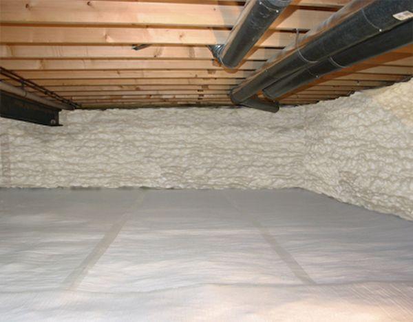 Insulating Crawlspaces