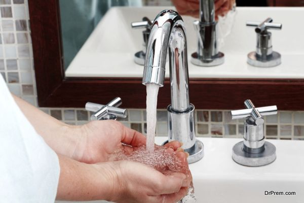 close faucets properly